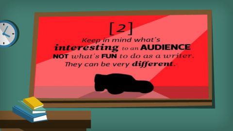Pixar's 22 Rules, #2: Be Fun. Be Interesting But Be Your Audience