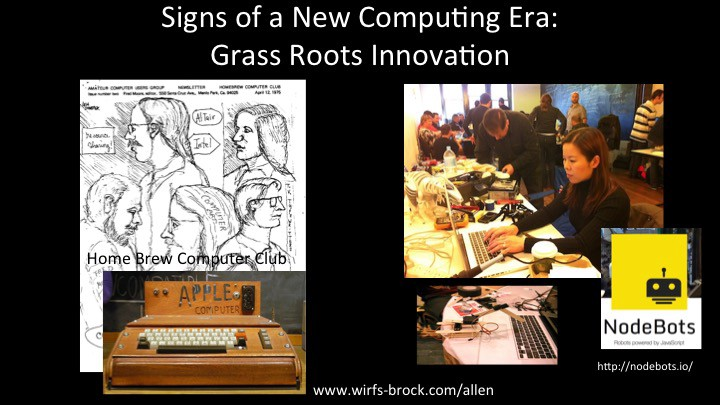grassroots computing essay Essay about history of the development of computers the history of computer development essay essay example essay on grassroots boycott.