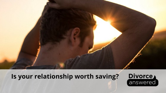 is the relationship worth saving