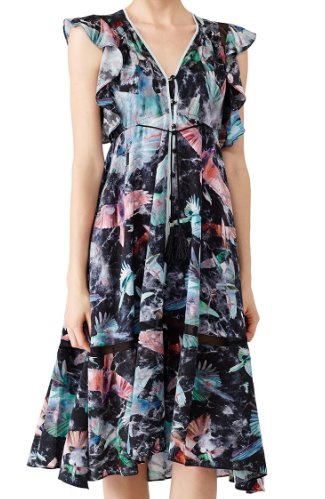 1a28b2513 Find this dress at  https   www.renttherunway.com shop designers hunter bell printed harrison dress