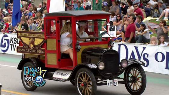 This Model T Was Converted To Electric And Eared In The Gest Parade Utah We Started Out Our Company With A Primary Focus On Converting Gasoline