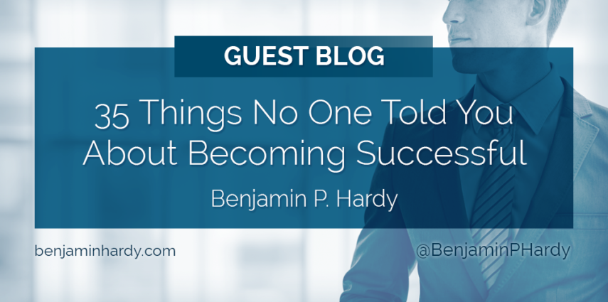 35 things no one told you about becoming successful malvernweather Gallery