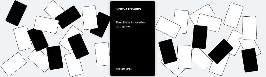 Break the ice and innovate with the world's first innovation card game.