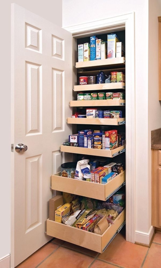 With A Swing Out Pantry Included In Your Modern Indian Kitchen Design, You  Can Maintain A Sleek Look In The Kitchen While Still Having Plenty Of Room  For ...