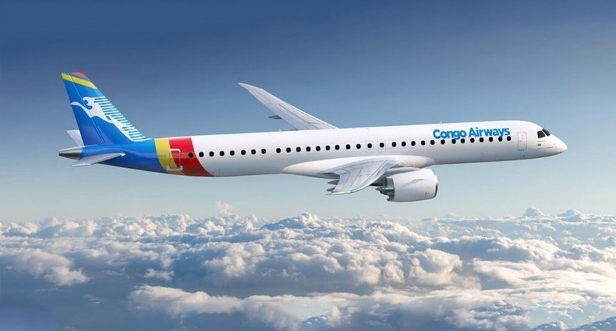 Congo Airways adds two more E2s; deliveries to begin by 2022