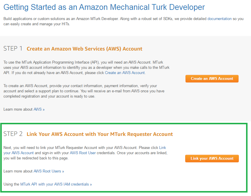more flexibility for mturk requesters who use the mturk apiyou can learn more about how to sign up and become an mturk requester and use the mturk api here s requester mturk com developer