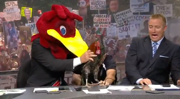 Kirk Herbstreit scared of Rooster