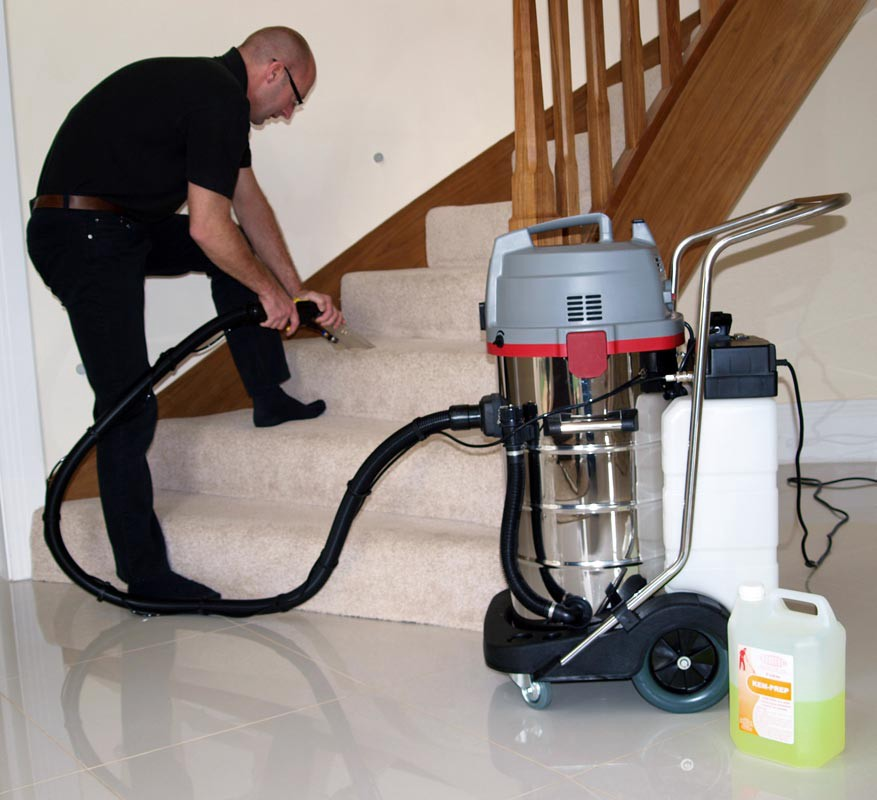 My question is, can I use a cleaning solution plus this vacuum to shampoo  my carpets similar to a Rug Doctor? Iu0027m hoping to clean our apartmentu0027s  carpet of ...
