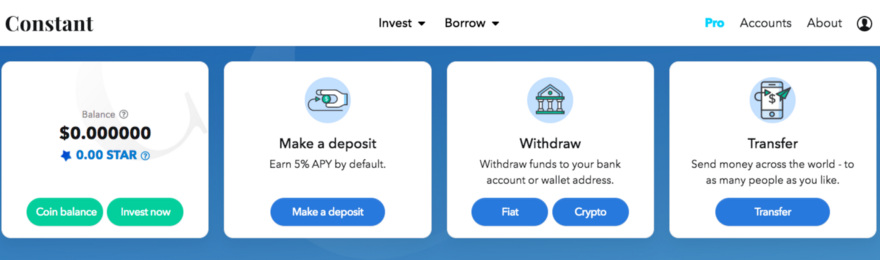 Click Withdraw Crypto to send your PRV loan to your Incognito Wallet