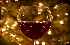 glass of wine weight loss