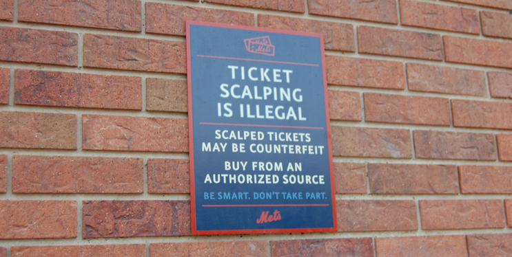 ticket scalping is illegal