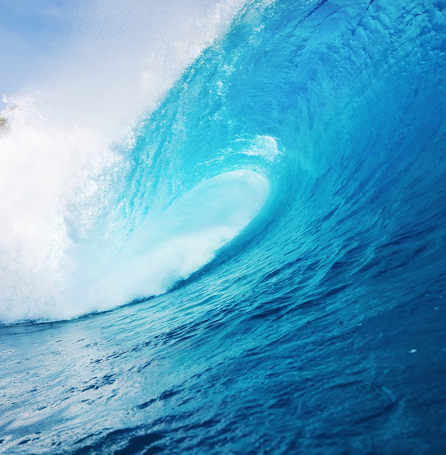 Image result for Big blue wave