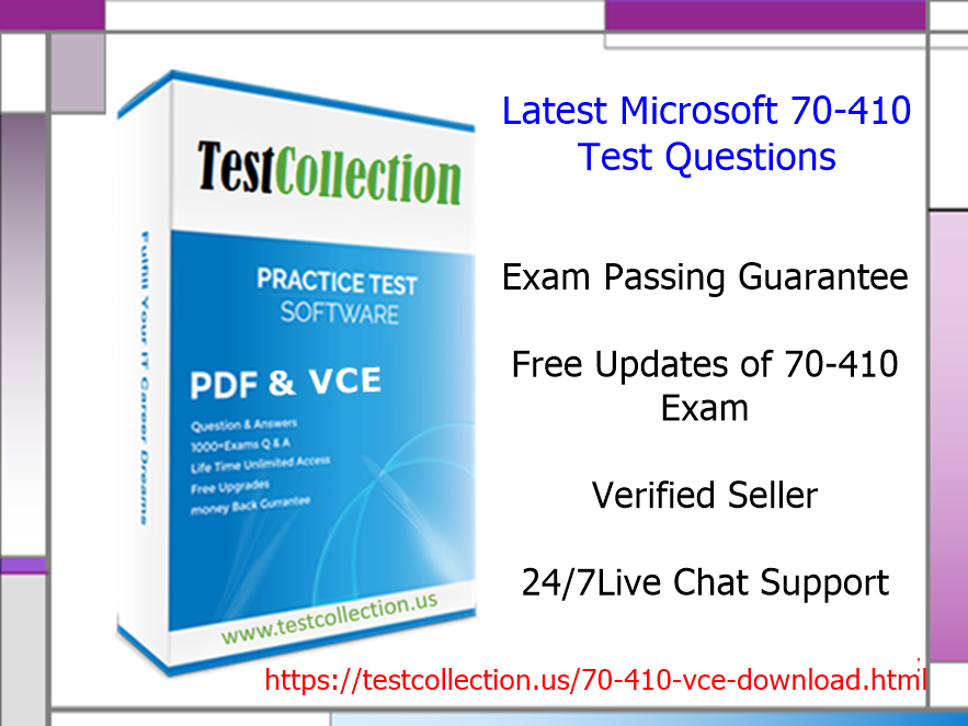 70410 Real Exam Questions Testcollection Barry Walter Medium