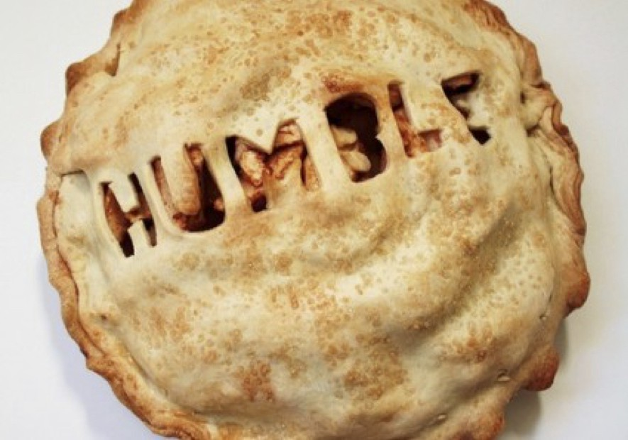 a piece of humble pie anyone