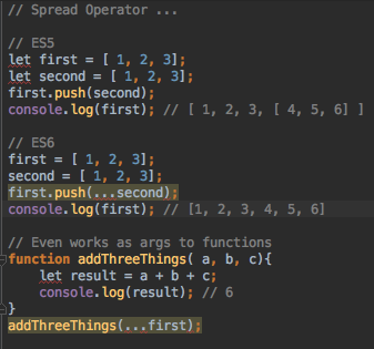this is highlighted as red because the current version of javascript for the project is not set to es6