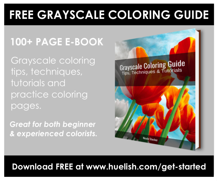to give you a sense of what youll find in the grayscale coloring guide here is the table of contents