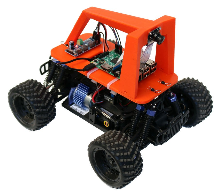 build your own self driving toy car