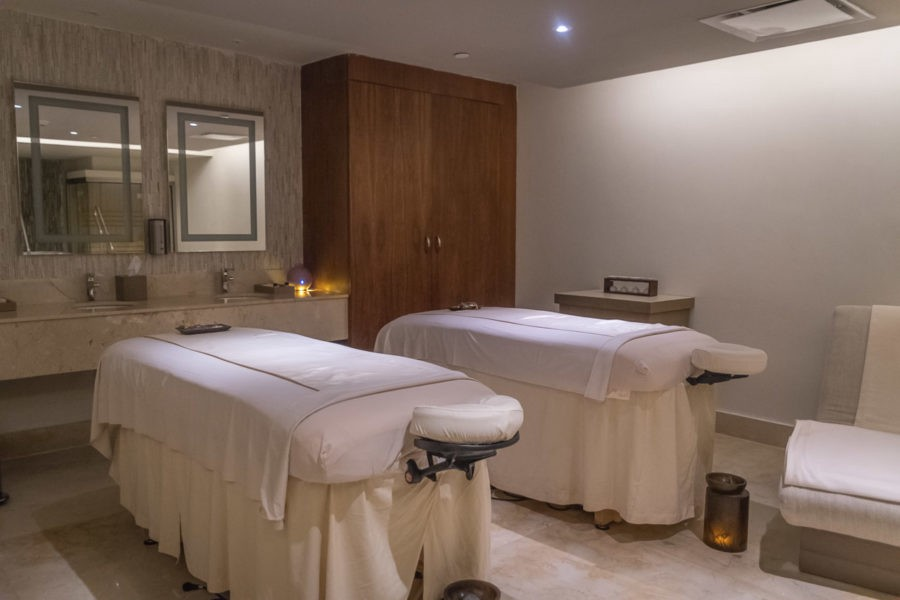 The VIP Couples spa package offers this fully equipped suite