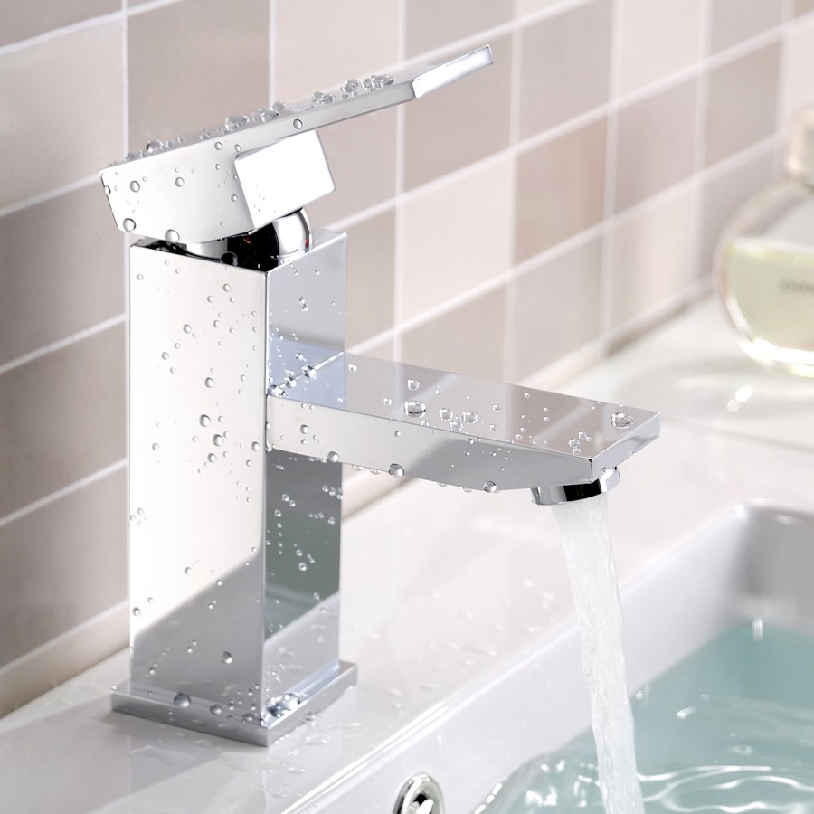 Review Dree One Handle Single Hole Bathroom Sink Faucet - Discount bathroom sink faucets
