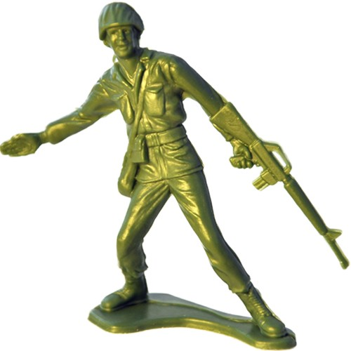 The Model History of Army Men