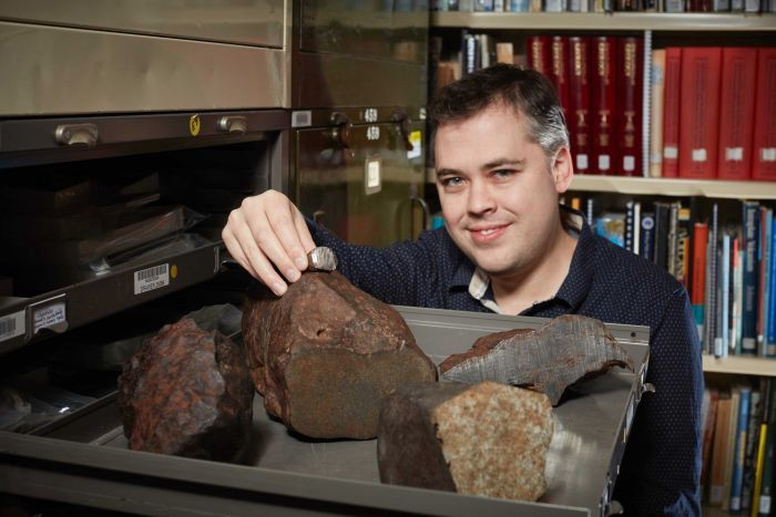 Scientist Dr Stuart Mills and the meteorite renaissance