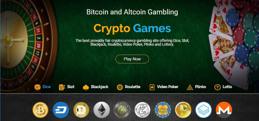 cryptocurrency for gambling