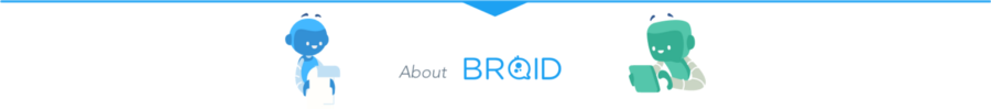 <<<<<<< Converse with your users. Everywhere. >>>>>>> With Broid, reach every users or any messaging channel and converse from your favorite app.
