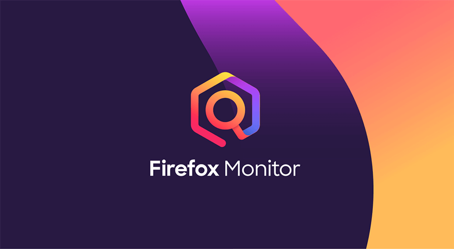 Image of Firefox Monitor logo with text.