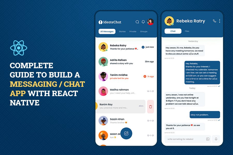 Complete Guide to Building a Messaging/Chat App with React Native