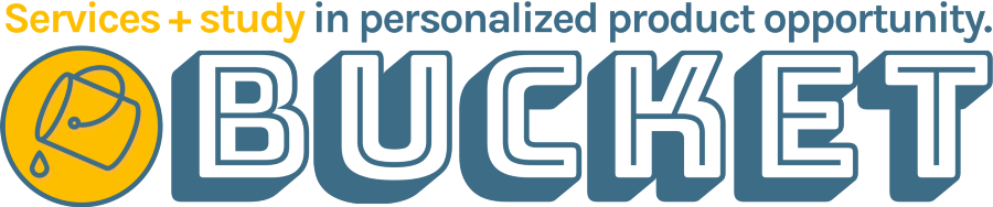Visit bucket.studio to learn about the wider work of a consulting and design practice focused on better digital personalization.