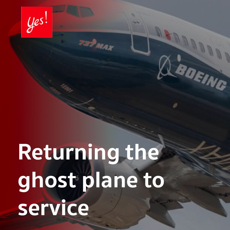 Returning the ghost plane to service
