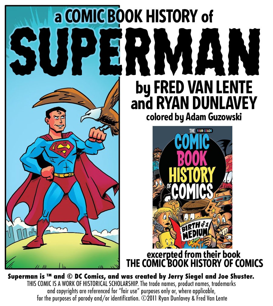 A Comic Book History of Superman