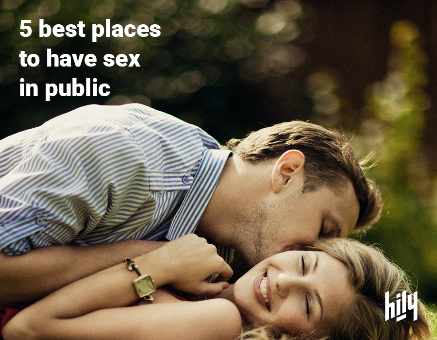 Top five places to have sex