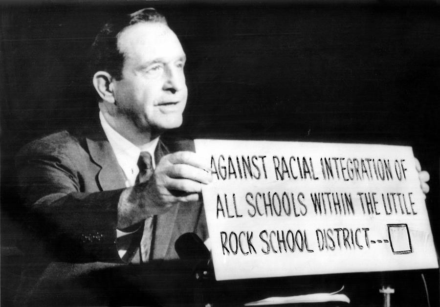 Image result for governor orval faubus little rock nine