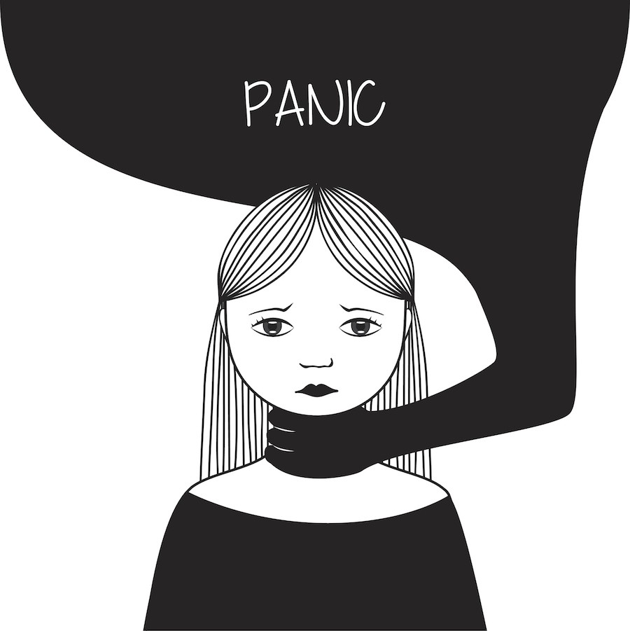 A panic attack is the same thing as an anxiety attack