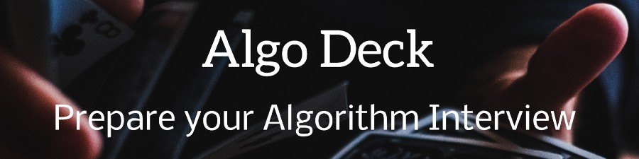 An Open-Source Collection of +200 Algorithmic Flash Cards to Help you Preparing your Algorithm & Data Structure Interview. +3k ⭐ on Github.