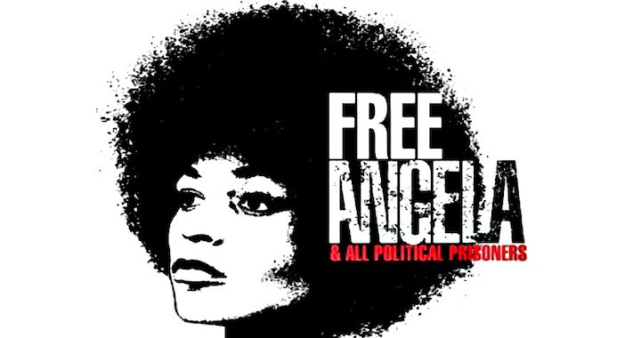 Free Angela and All Political Prisoners Ad