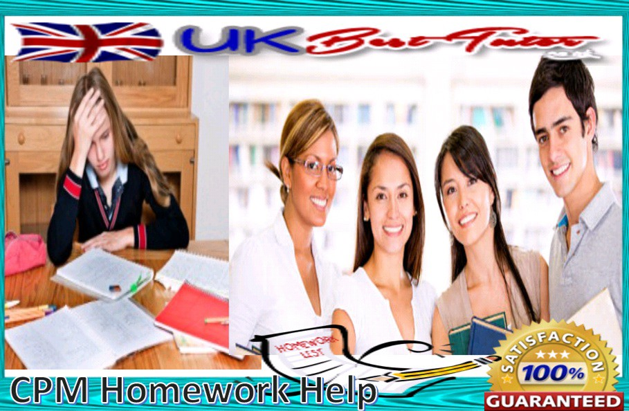 cpm com homework help Homework help - post homework questions, assignments & papers get answers from premium tutors 24/7.