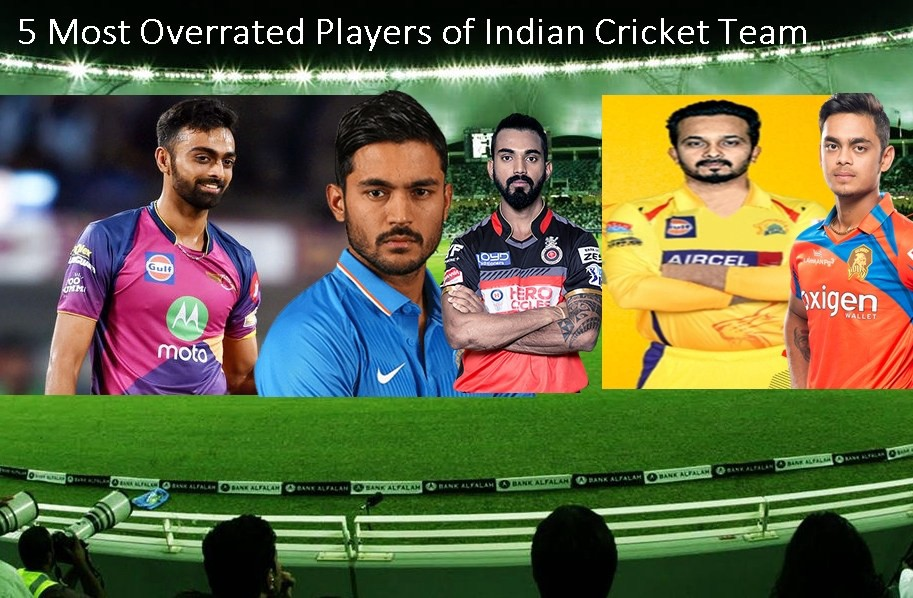 5 Most Overrated Players Of Indian Cricket Team Playfantasysports