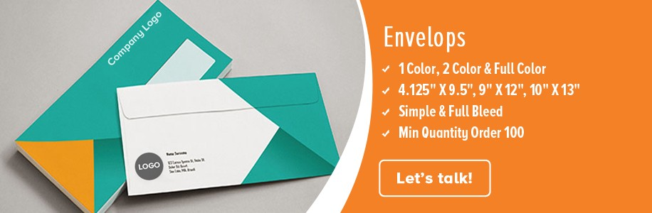a close look at how your envelopes can turn into efficient marketing