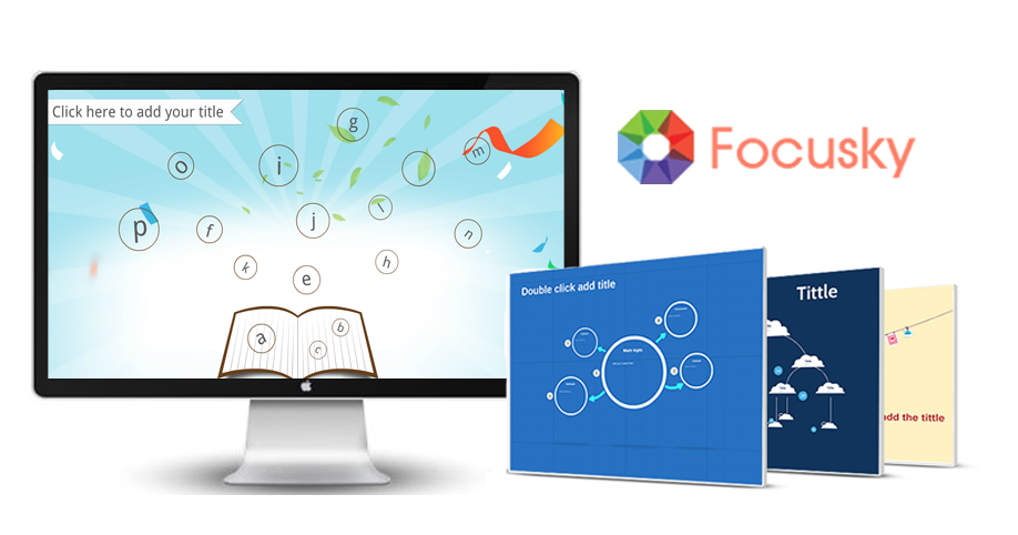 free online presentation software focusky to bring your class to life