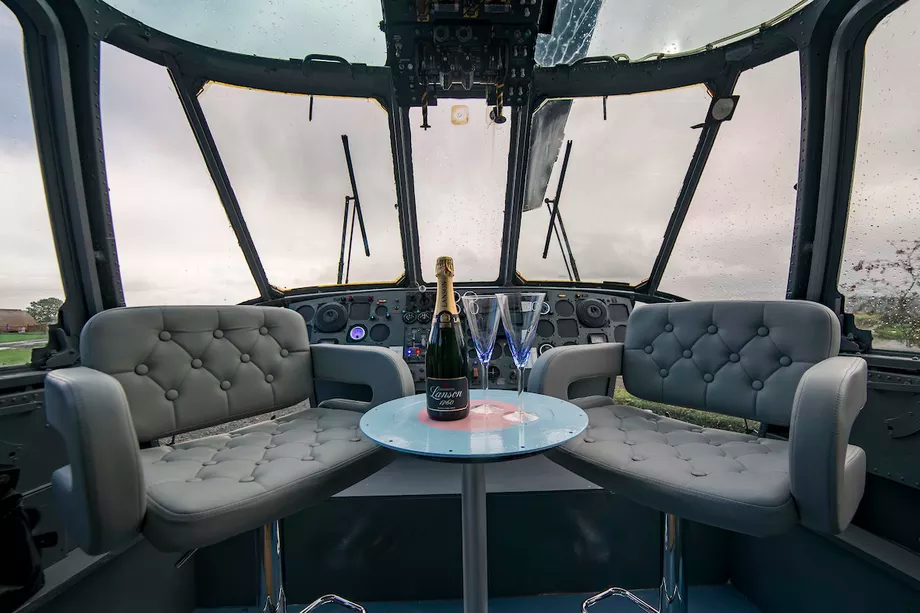 You Can Now Go Glamping Inside A Helicopter OMGFacts