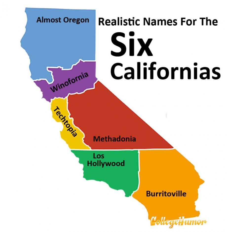 if california doesn t secede and it s almost certain it won t the idea of calexit still creates some interesting questions i ll name just a couple