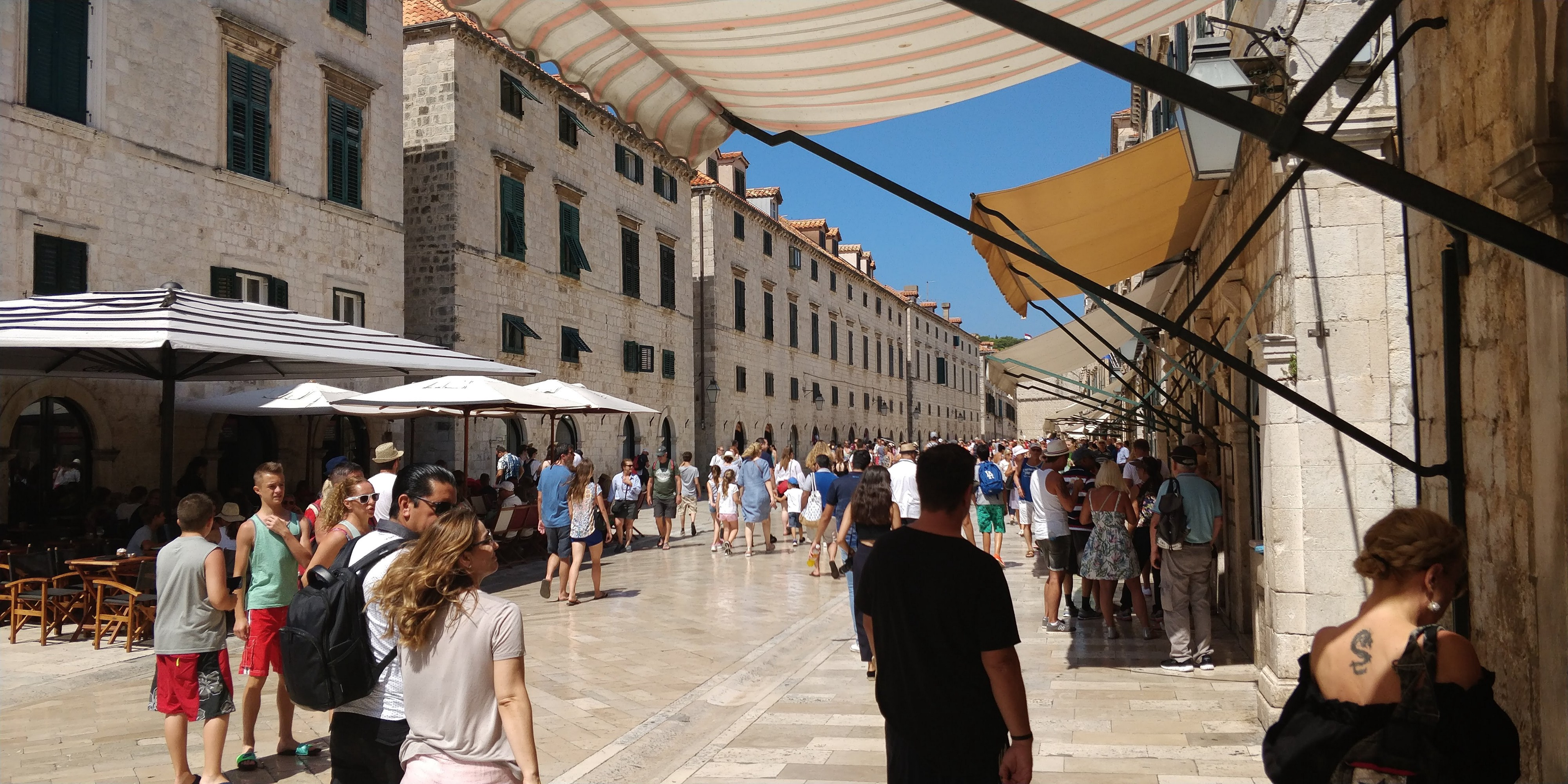 Main street of the old Dubrovnik!
