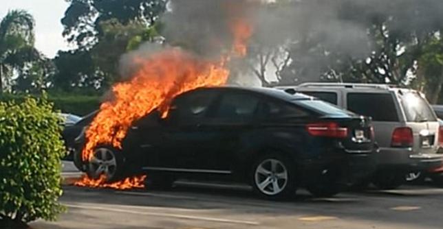Why Are Parked Bmws Spontaneously Catching Fire Across The Country Owners Demand Answers As Dozens Of Luxury German Cars Burst Into Flames While