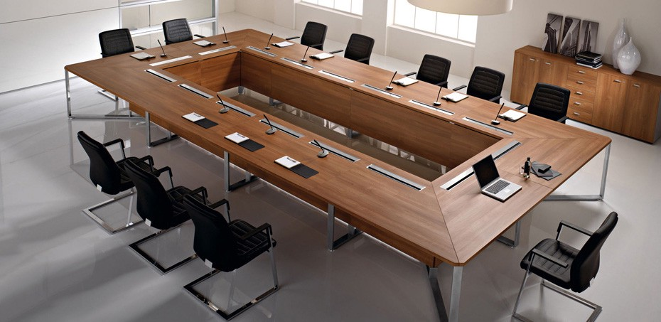 How To Choose The Conference Table Guide To Size Shapes - Office max conference table
