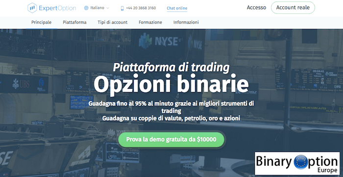 Binary option stories