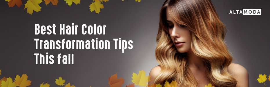 Best hair color transformation tips for fall altamoda hair salon best hair color transformation tips for fall solutioingenieria Choice Image