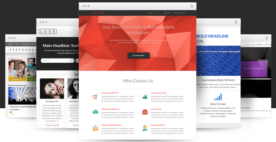 Thrive Themes  WordPress Themes Used Value