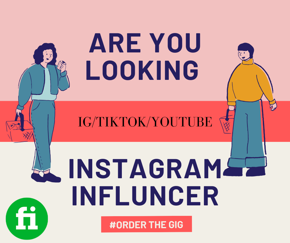 I will search for the right Instagram, TikTok, youtube influencers